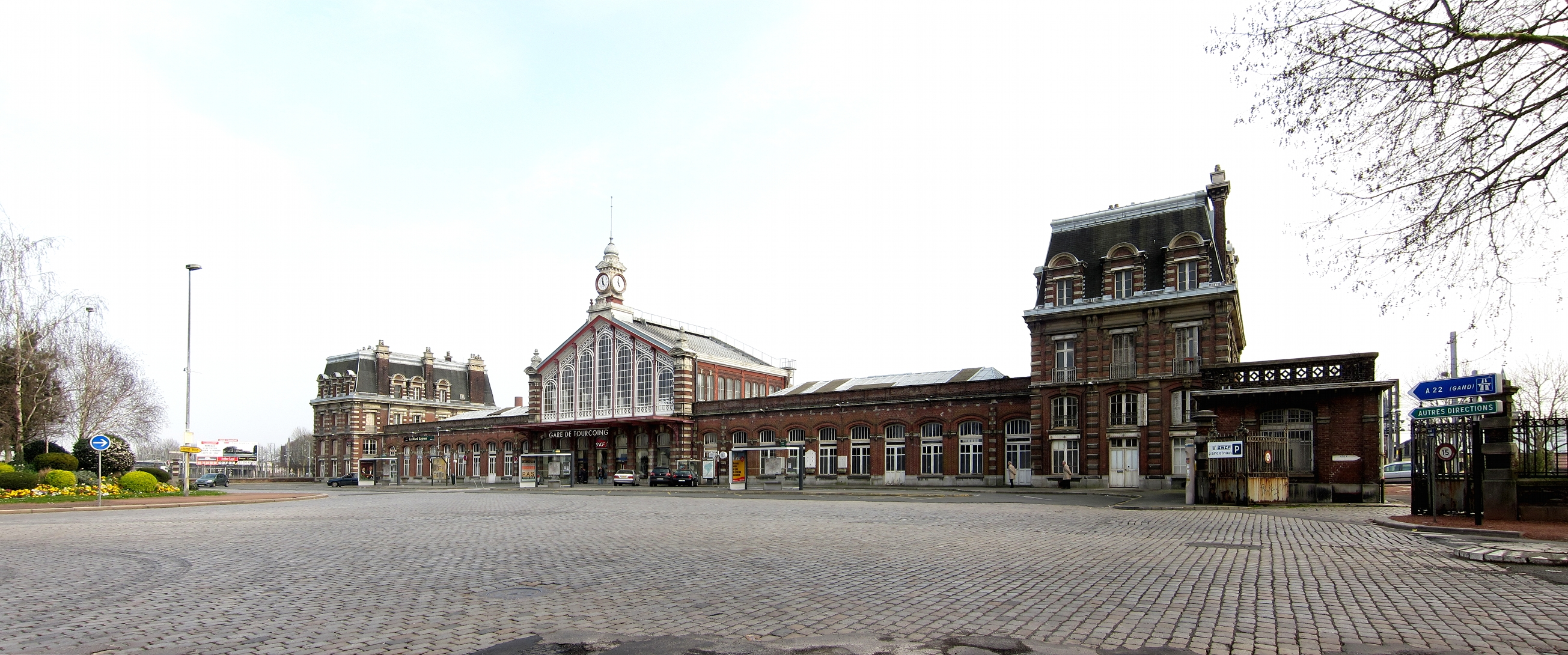 Tourcoing France  city photos : Visiting Tourcoing, France and its railroad station: a French national ...