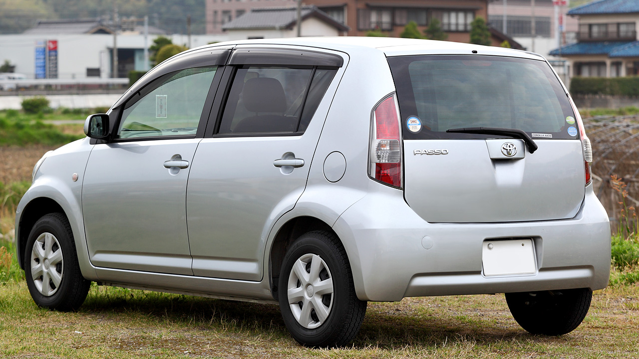 Build Your Own Toyota >> File:Toyota Passo 108.JPG - Wikimedia Commons