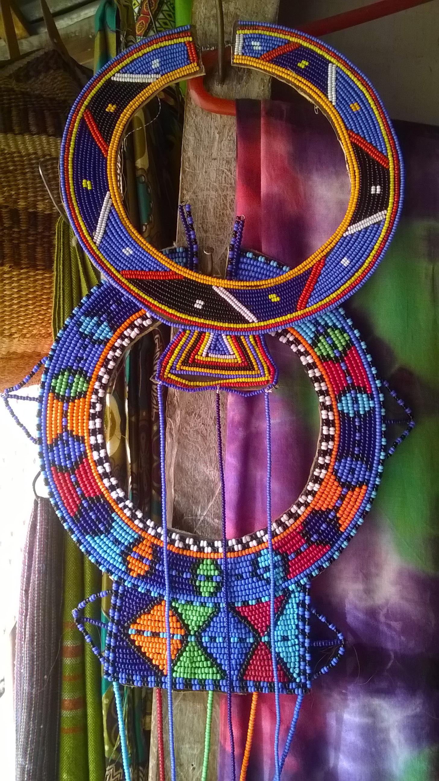 File:Traditional Maasai Jewelry. Triangle Curio Market