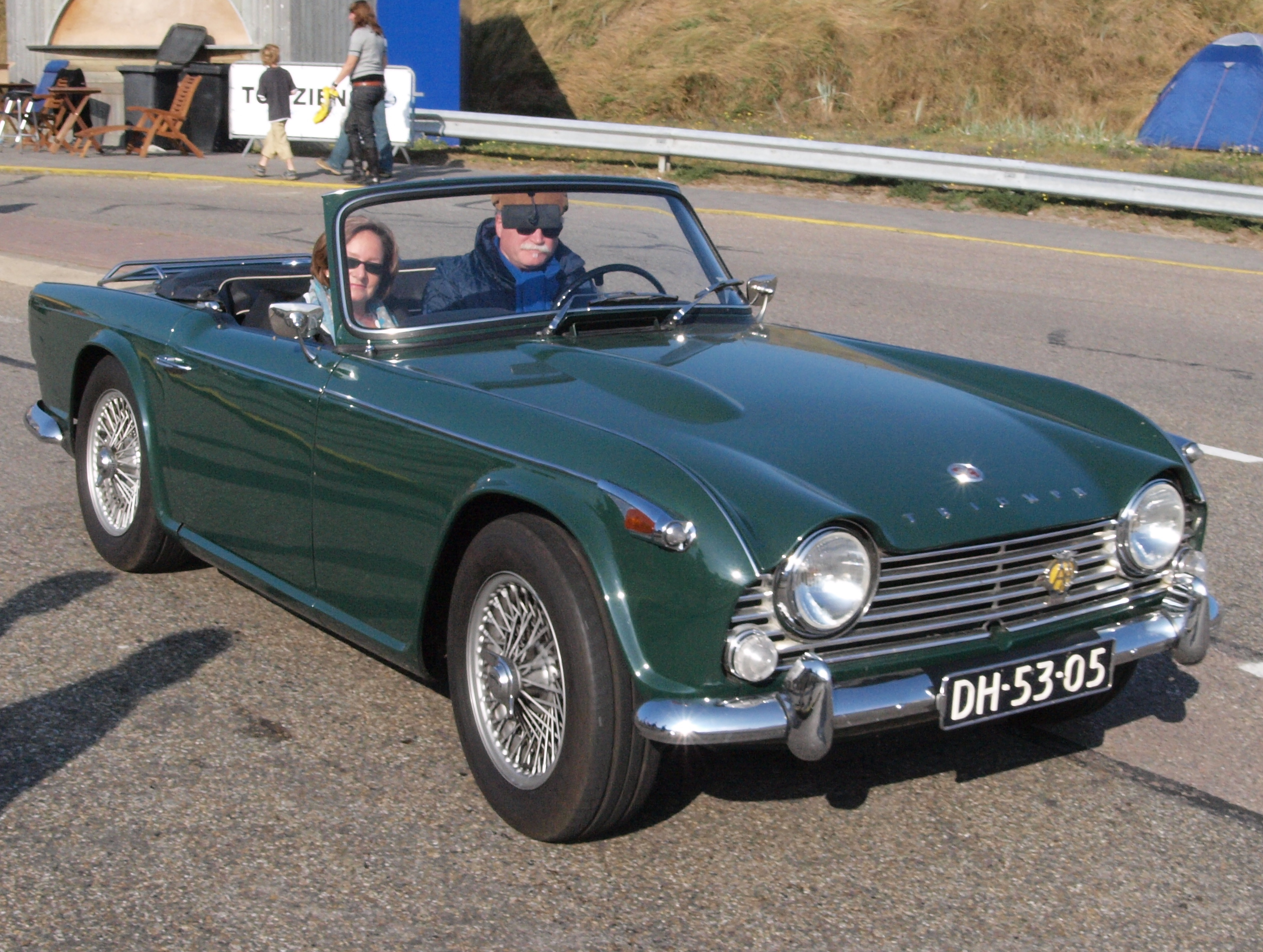 Filetriumph Tr4 Dutch Licence Registration Dh 53 05 Pic1jpg