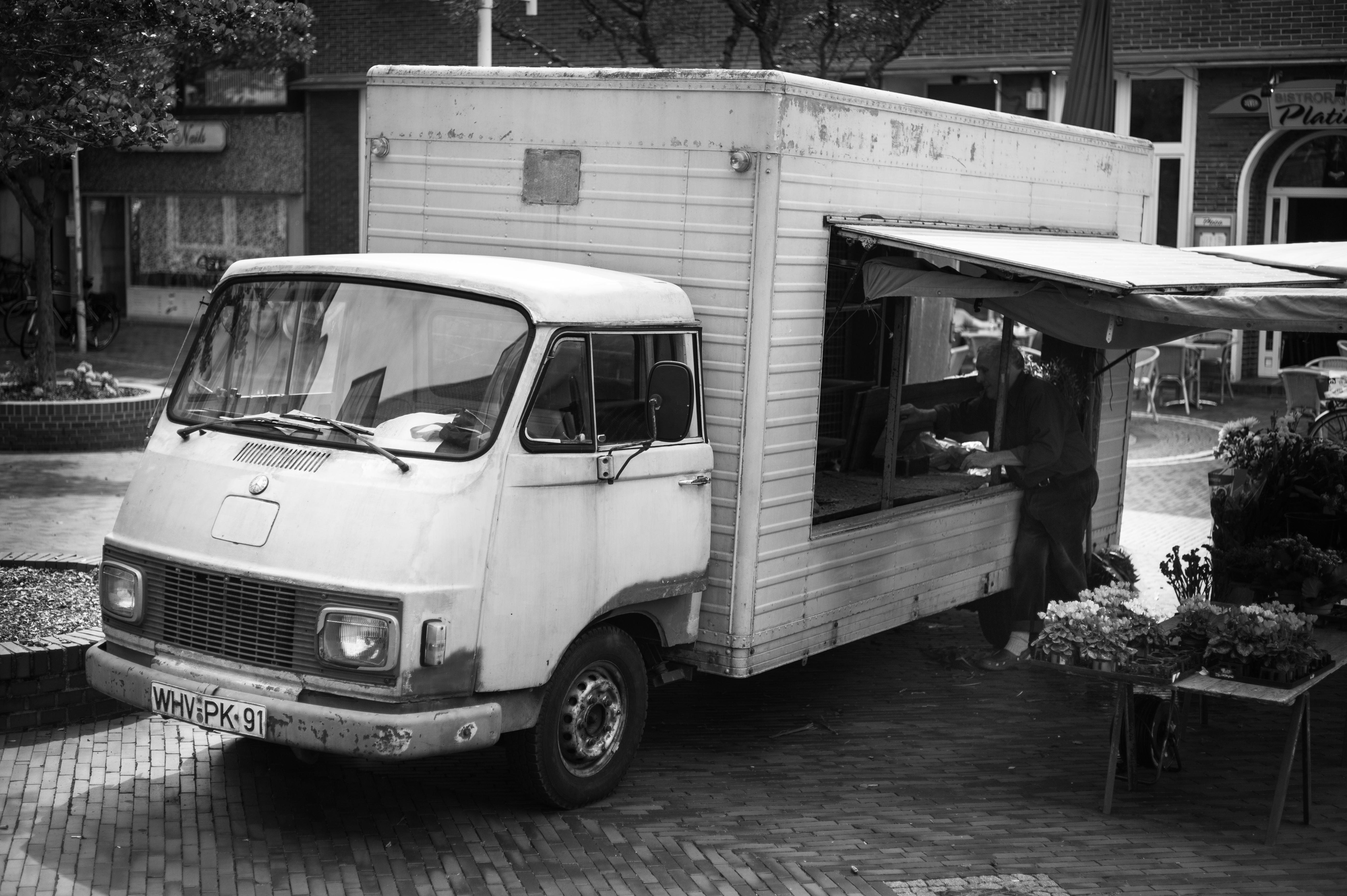 File Truck Mercedes Benz Hanomag Harburger Transporter Weekly Market