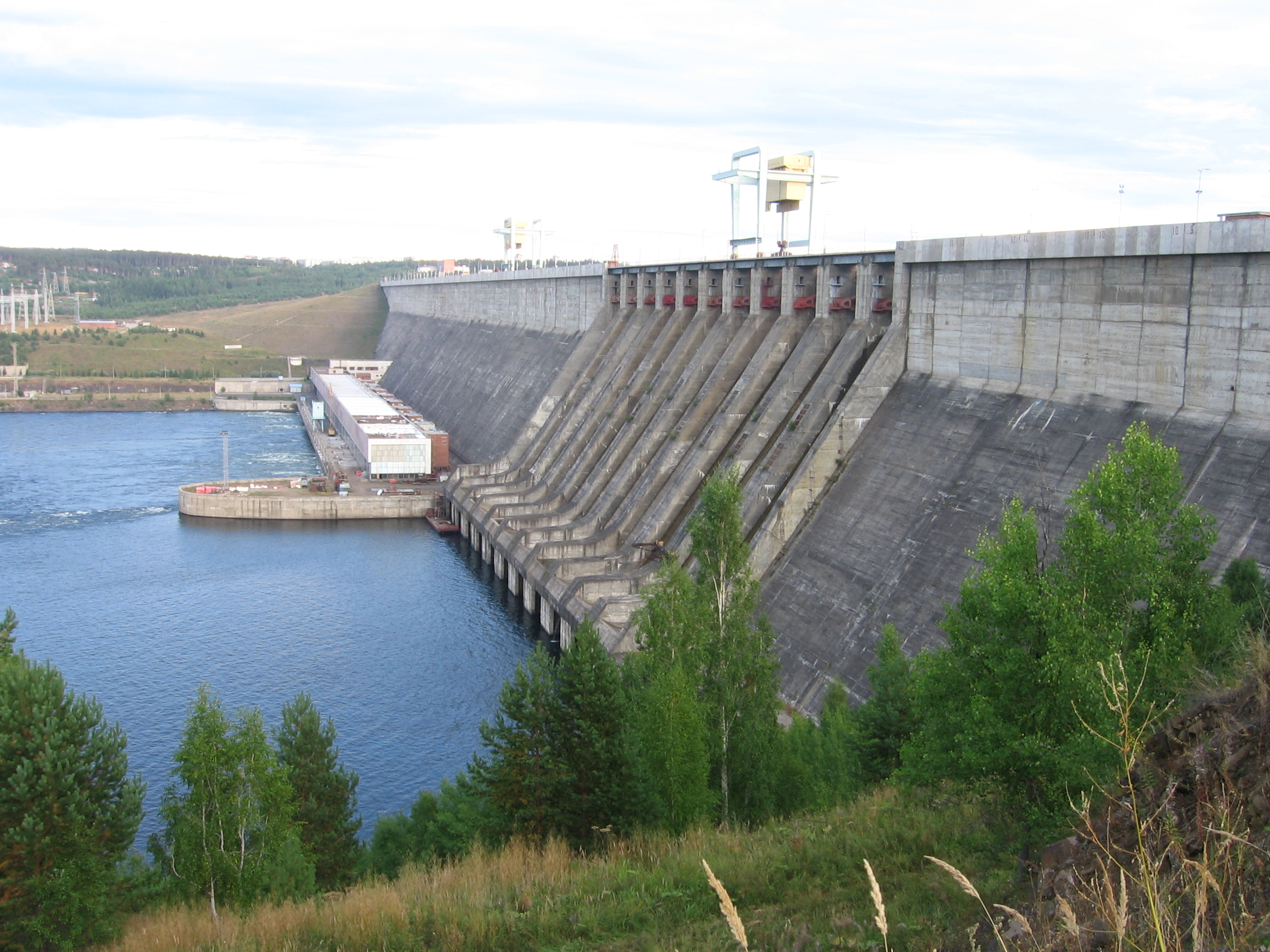 Ust Ilimsk Hydroelectric Power Station