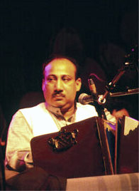Ustad Farrukh Fateh Ali Khan was widely known as Harmonium Raj Sahib (King of the Harmonium) for playing with the legendary Pakistani qawwal Nusrat Fateh Ali Khan.