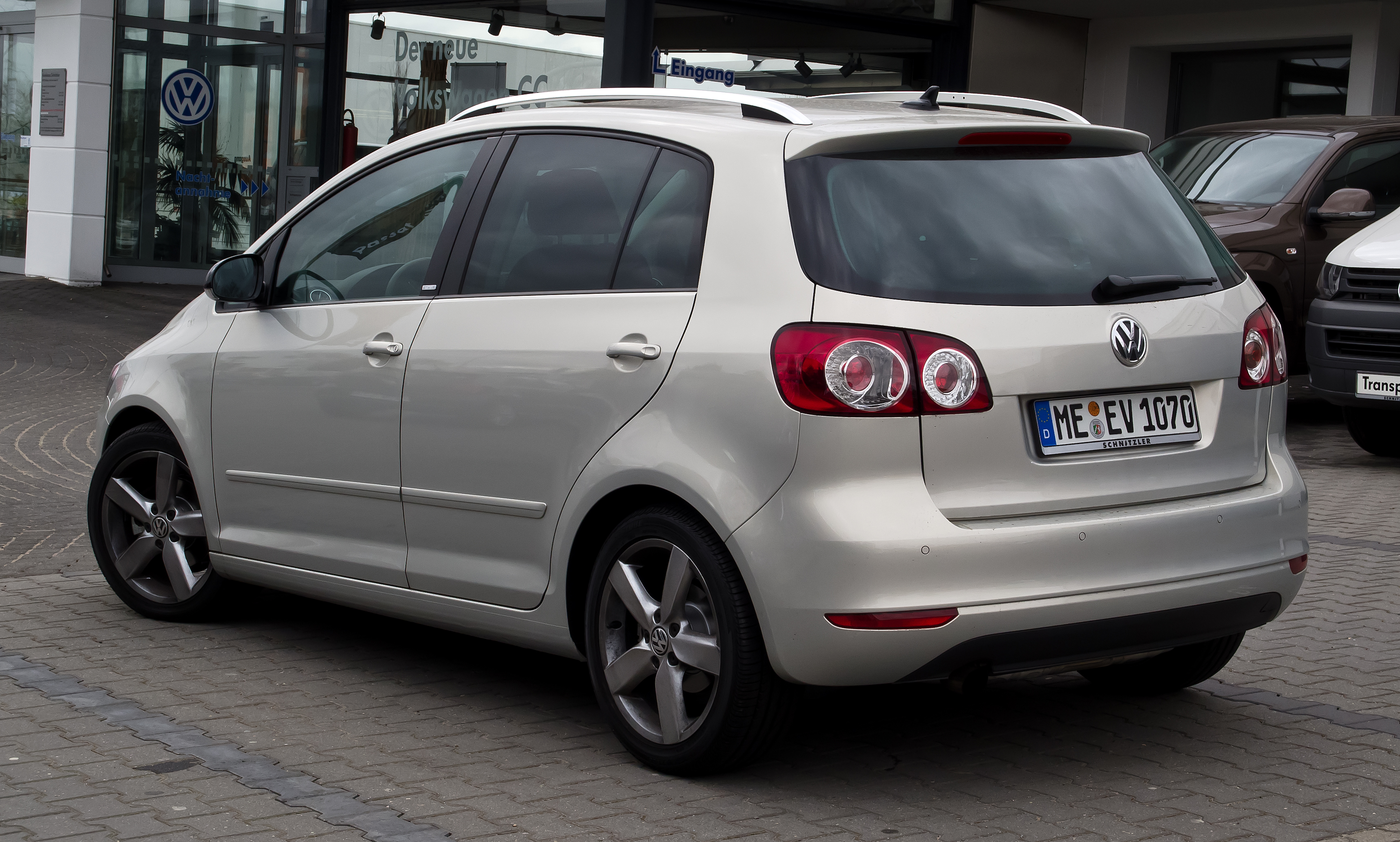 file vw golf plus style facelift heckansicht 31 m rz 2012 wikimedia commons. Black Bedroom Furniture Sets. Home Design Ideas