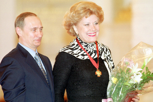 Datei:Vladimir Putin and Elena Obraztsova in 2000.jpg