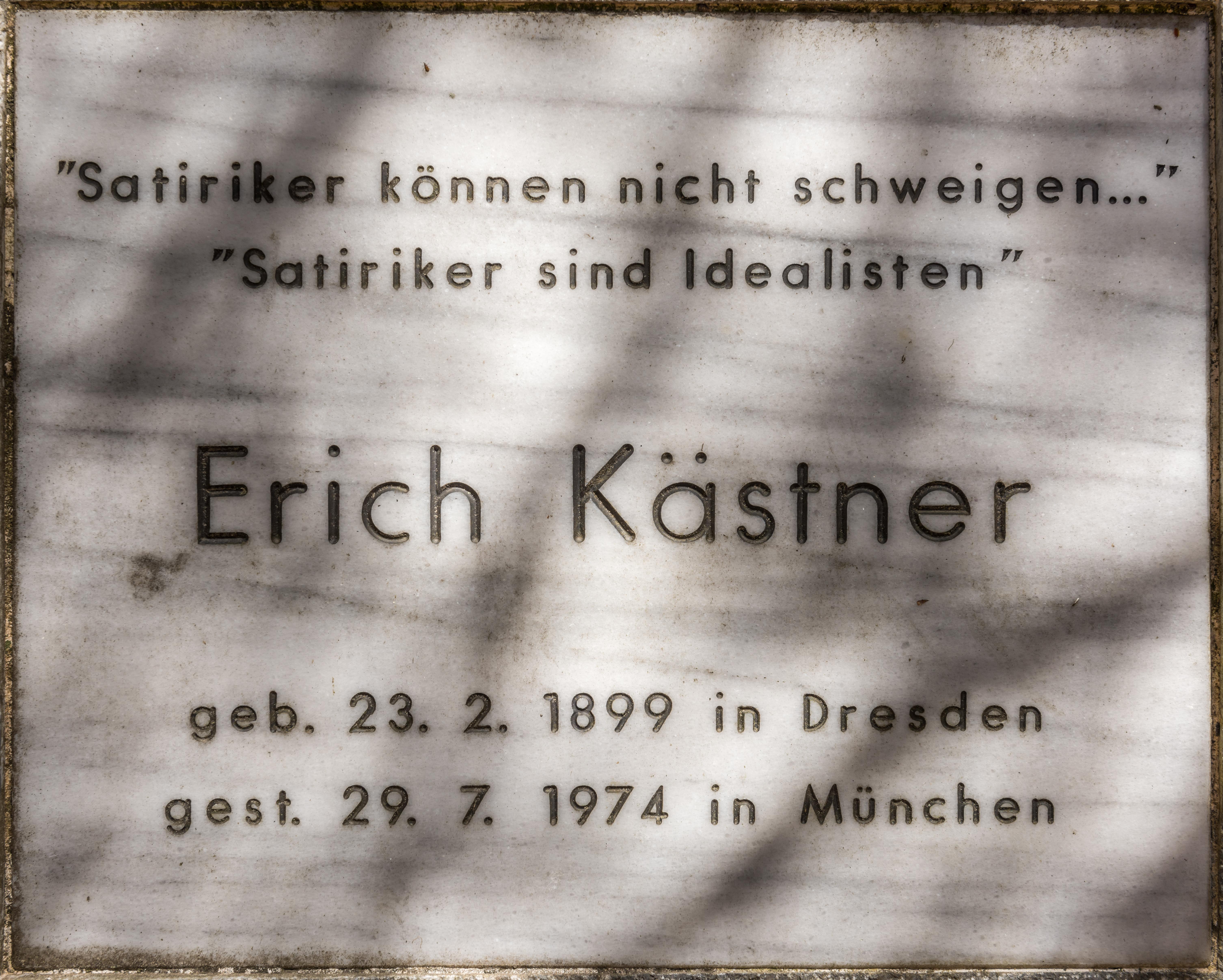 Erich kästner kurzer lebenslauf gedicht