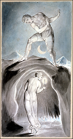 English: One of William Blake's watercolour il...