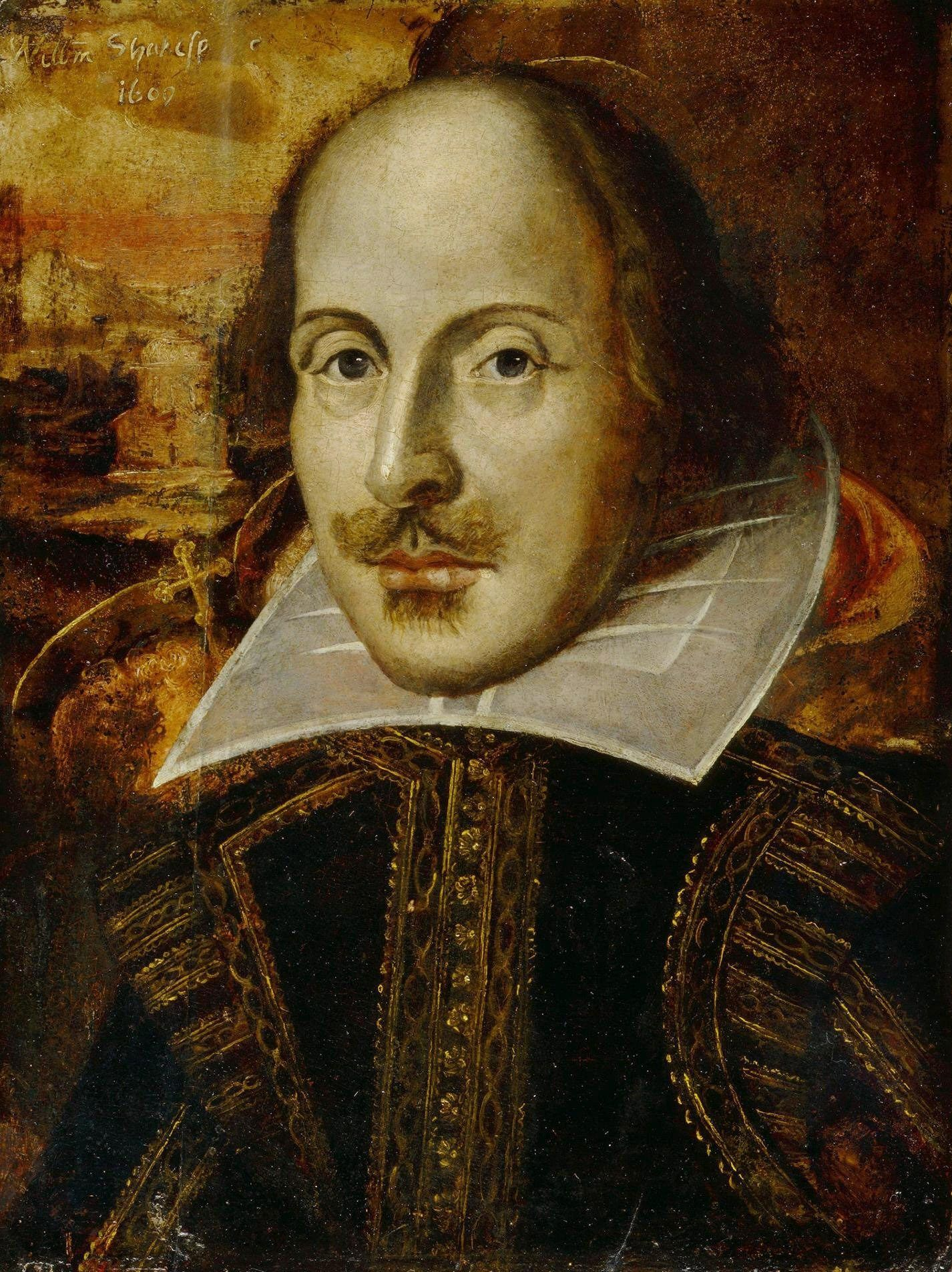file william shakespeare jpg  file william shakespeare 1609 jpg