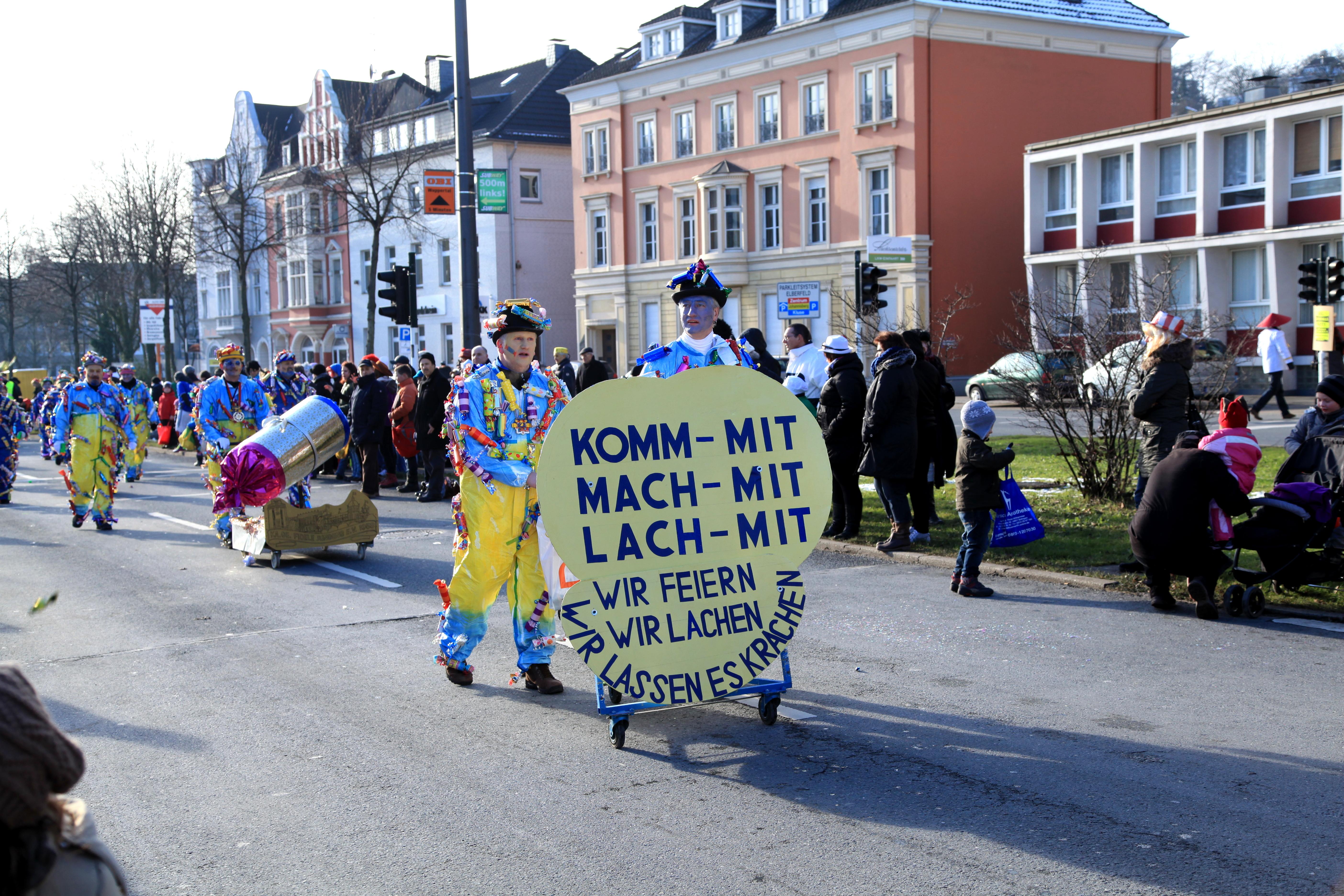 Filewuppertal Friedrich Engels Allee Karneval 056 Ies