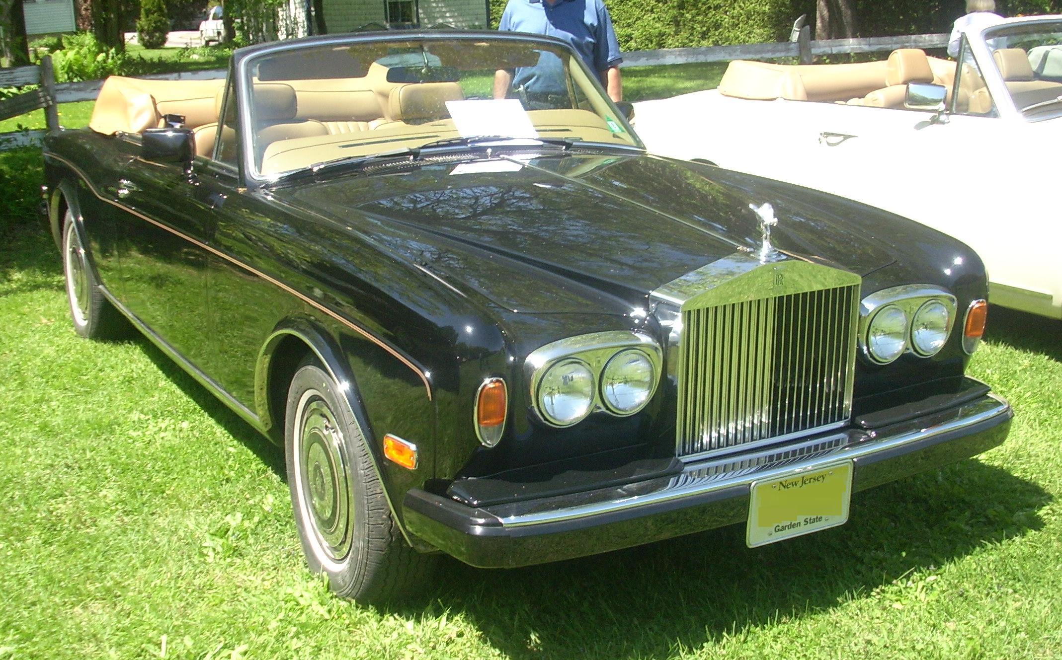 File:'88 Rolls-Royce Corniche Convertible (Hudson).JPG - Wikimedia