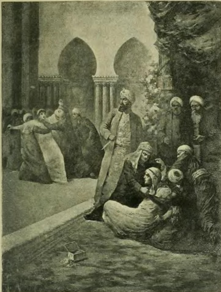 Illustration from Thousand Nights and a Night