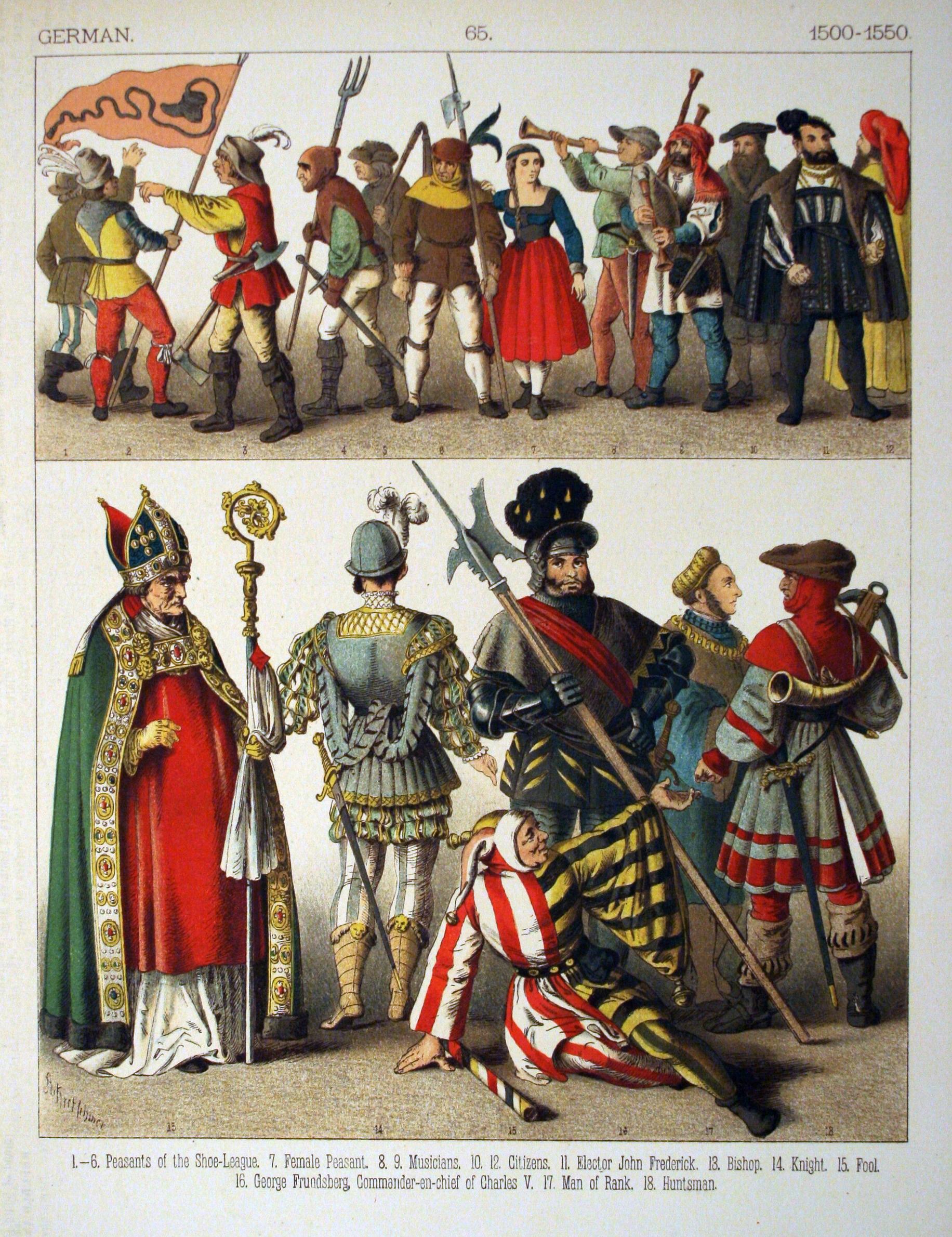 Medieval German Men S Clothing