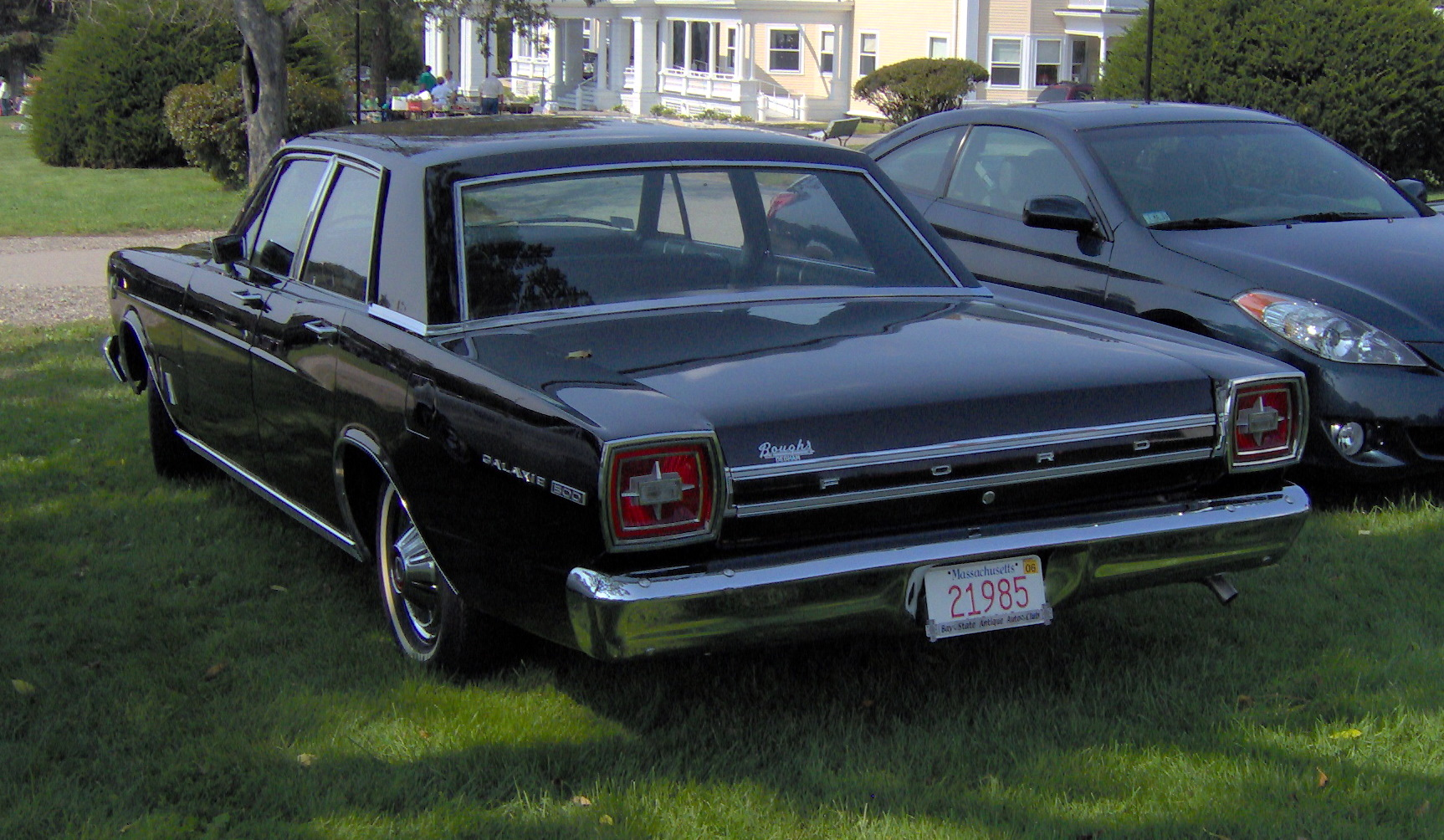 file 1966 ford galaxie 500 390 rear jpg. Cars Review. Best American Auto & Cars Review
