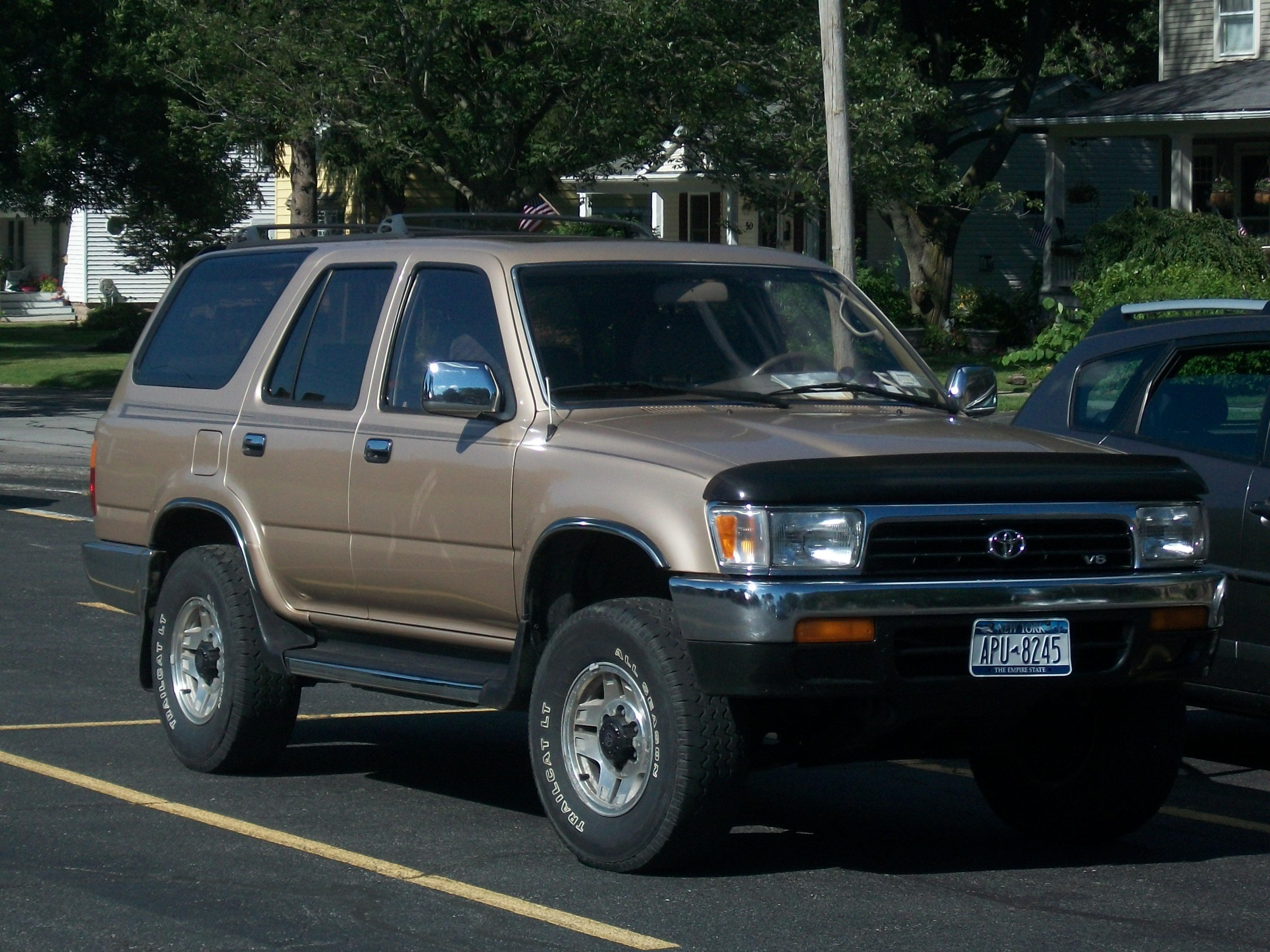 File 1991 Toyota 4runner Jpg Wikimedia Commons
