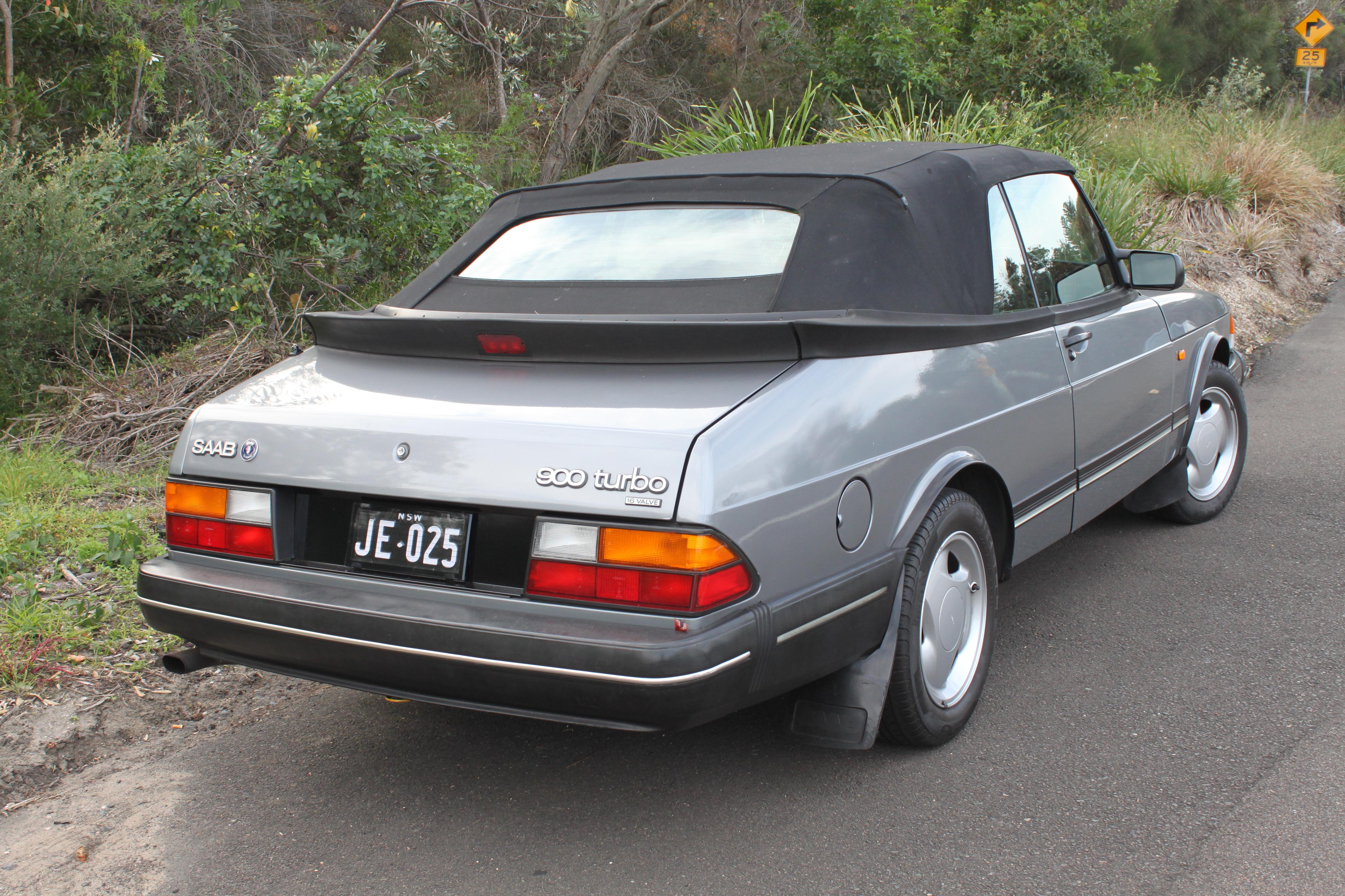 File 1993 Saab 900 Turbo Convertible 27185244482 Jpg