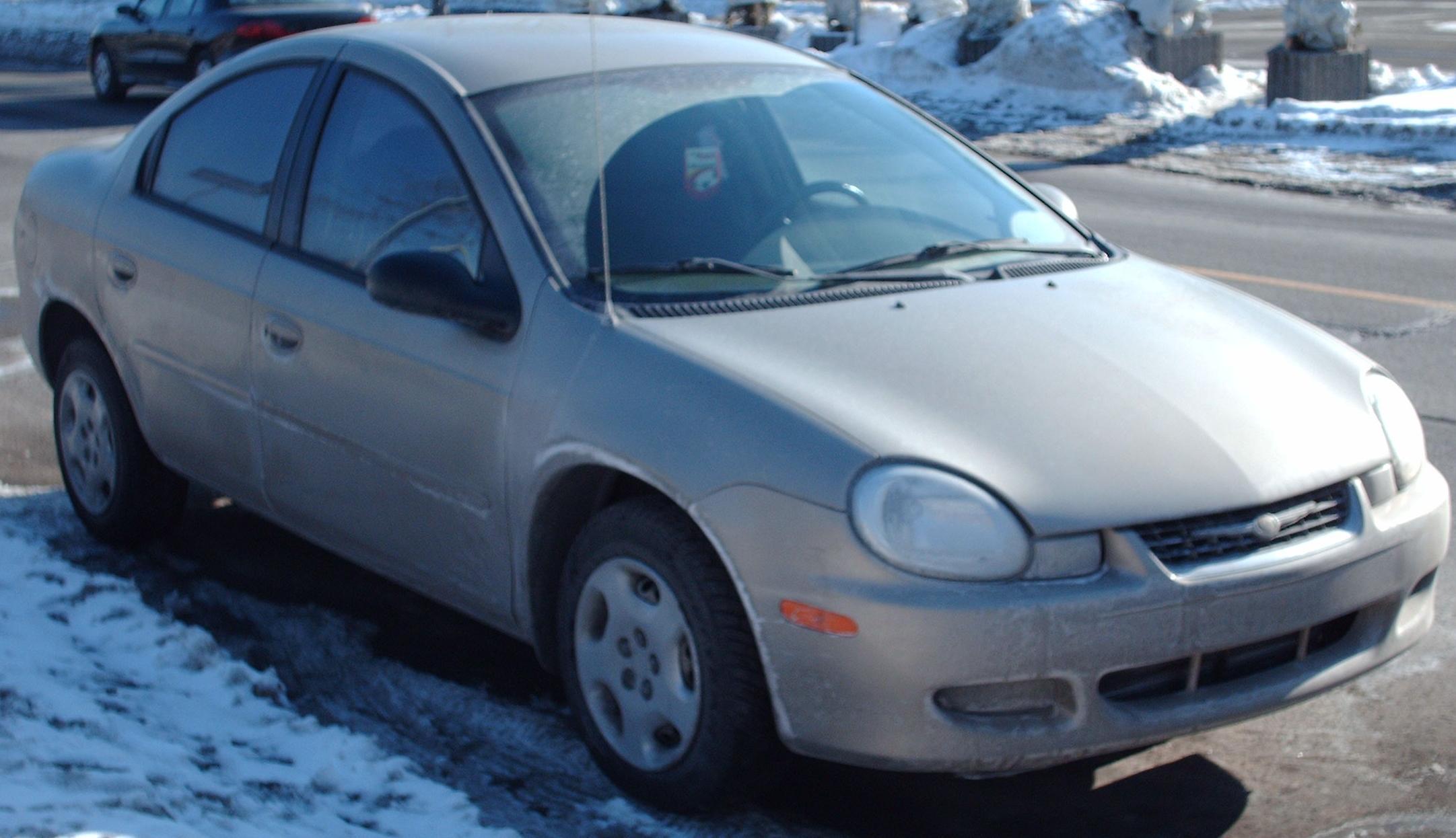 Archivo:2000-2002 Chrysler Neon Sedan.jpg - Wikipedia, la enciclopedia ...
