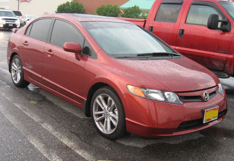 File:2007 Honda Civic Si Sedan