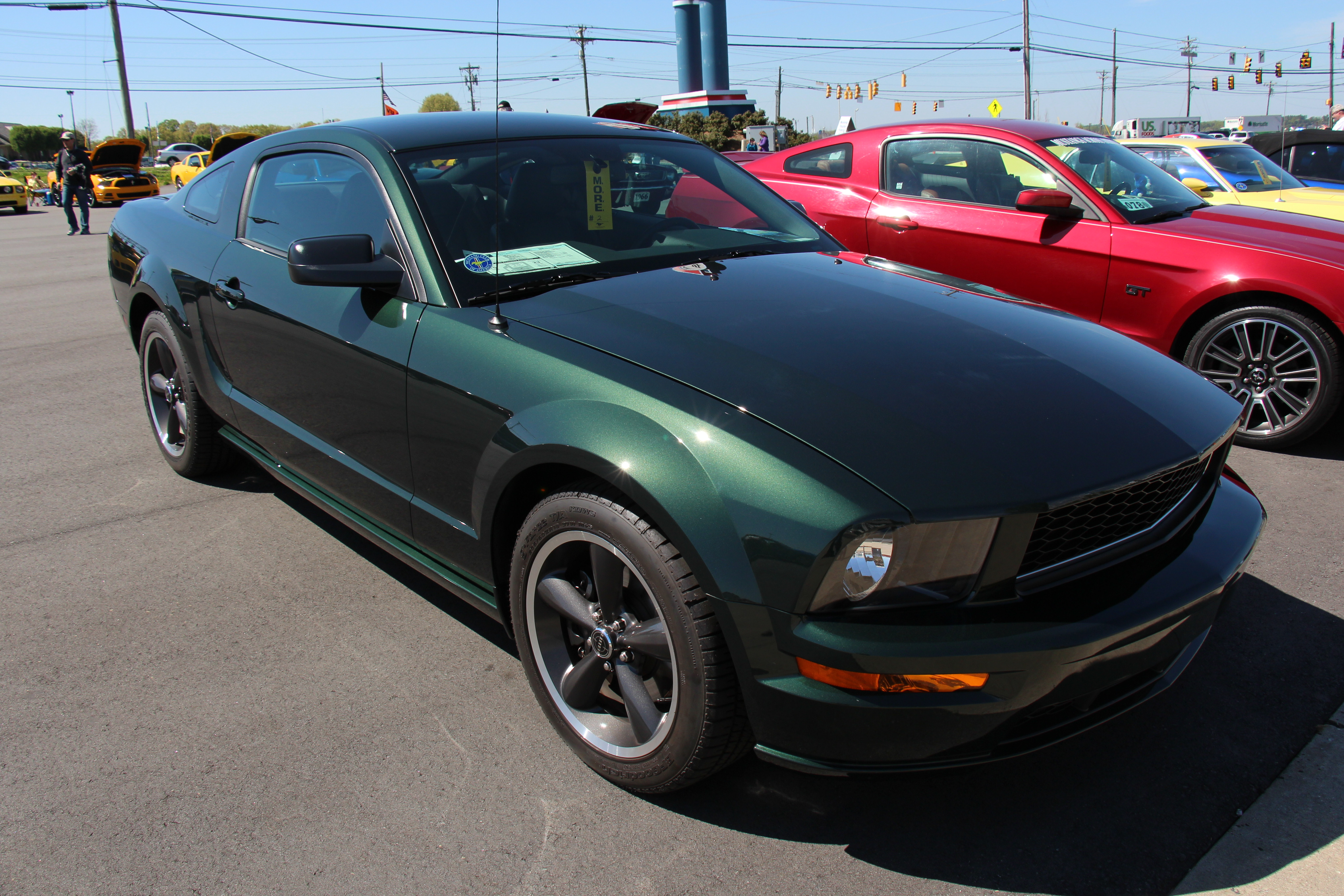 1968 and 2008 bullitt mustang. Black Bedroom Furniture Sets. Home Design Ideas