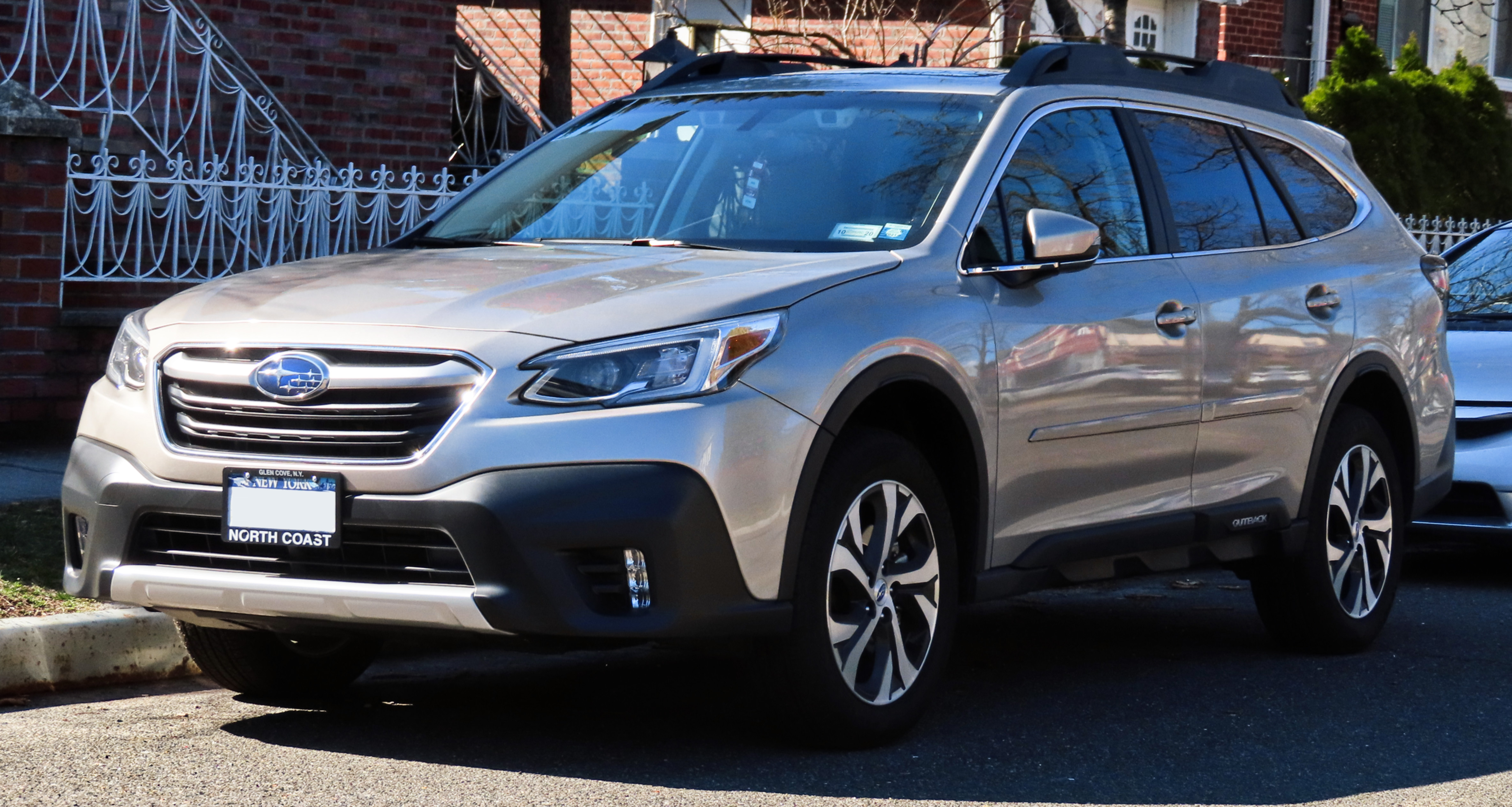 Silver Outback