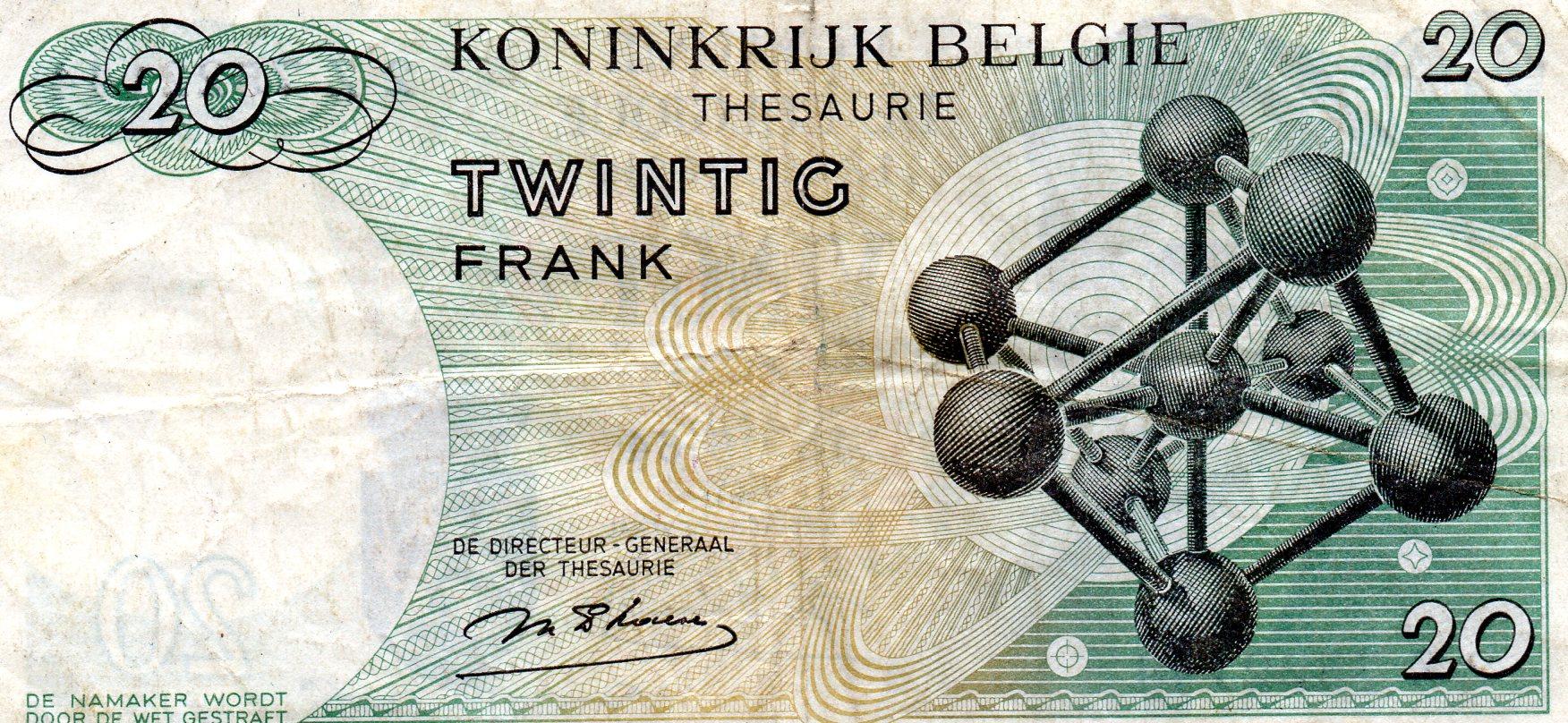 File 20 Francs Belge Avers B Jpg Wikimedia Commons