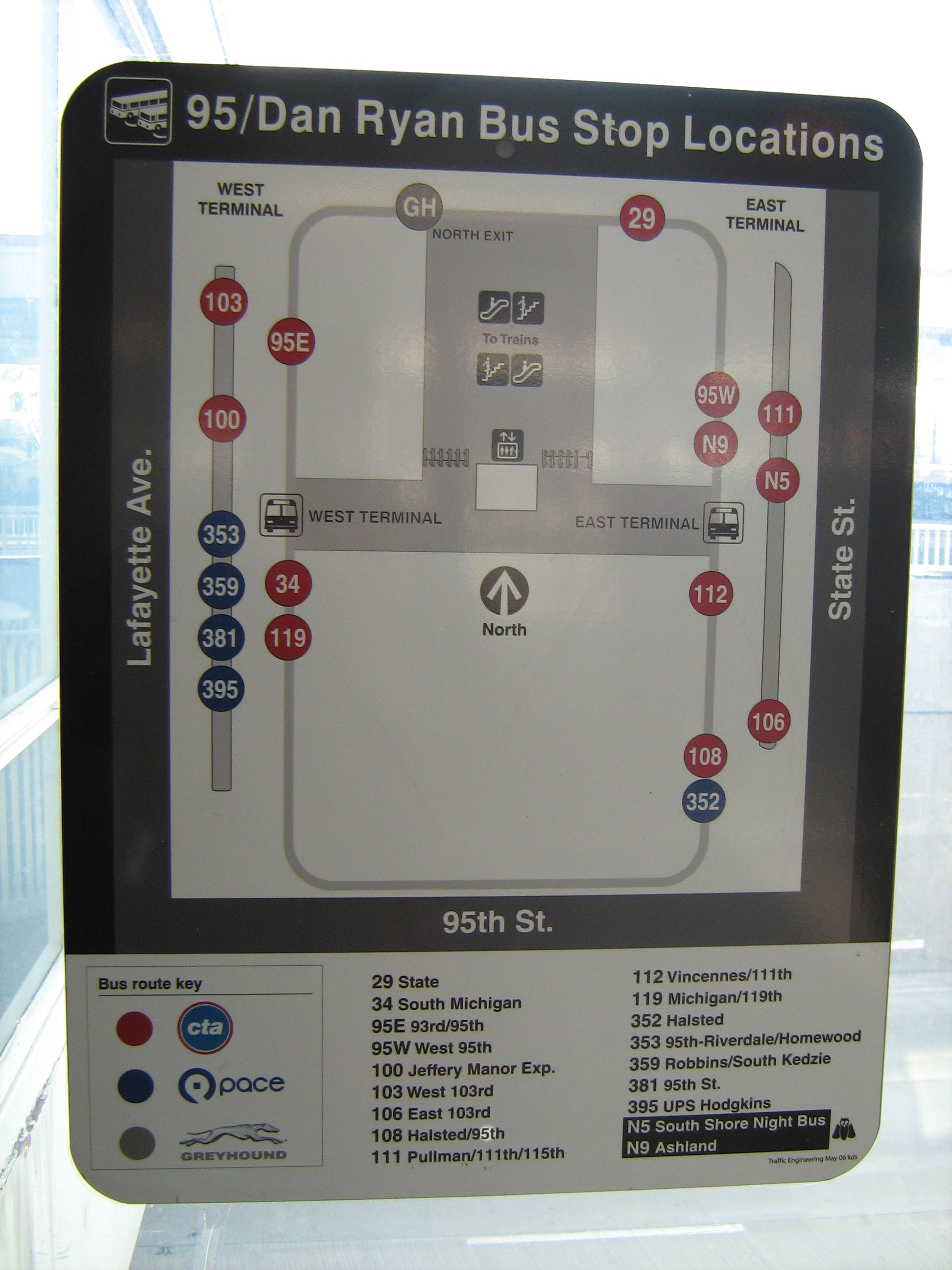File:95thDan Ryan CTA Bus Terminal Map jpg - Wikimedia Commons