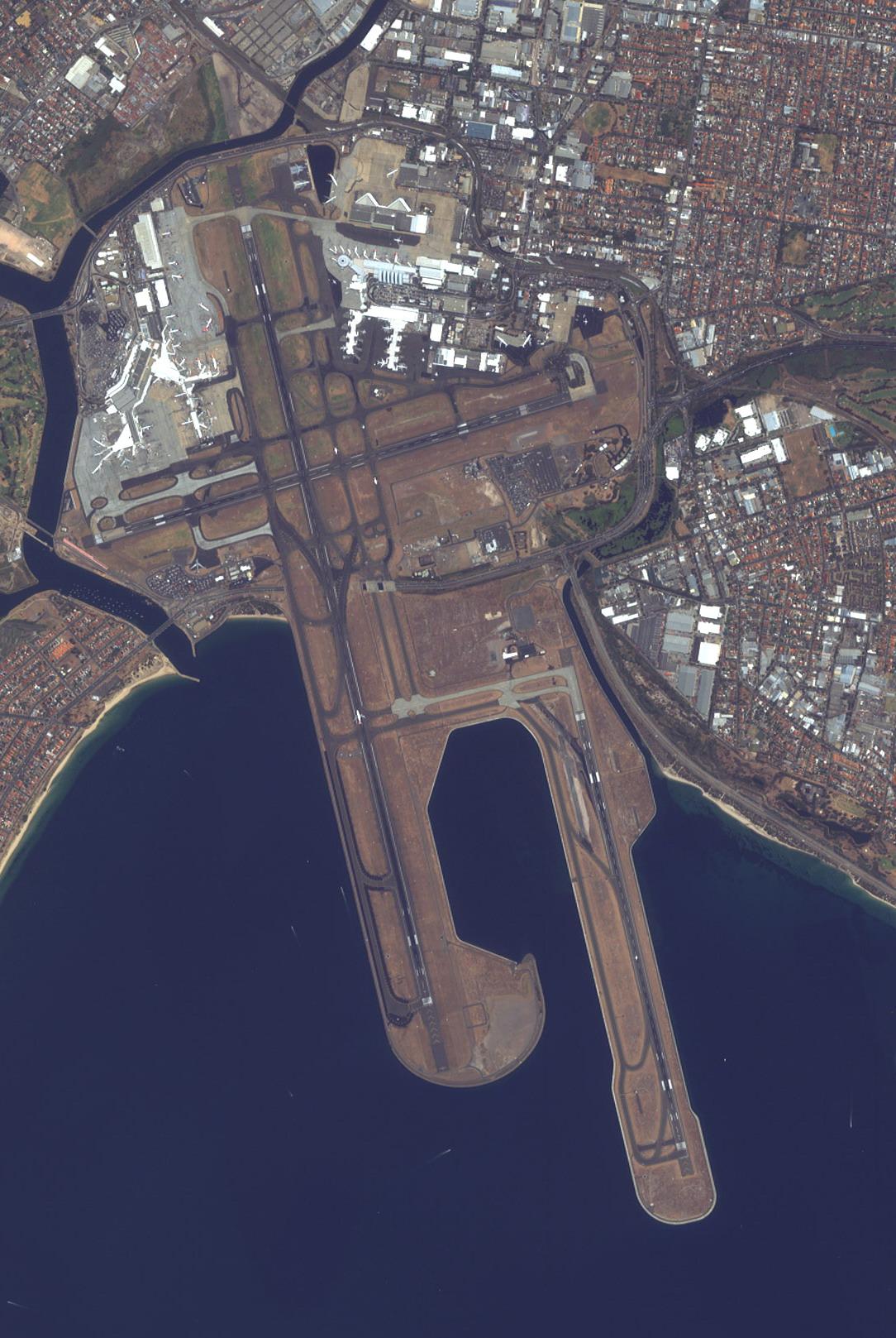 Depiction of Aeropuerto Internacional Kingsford Smith