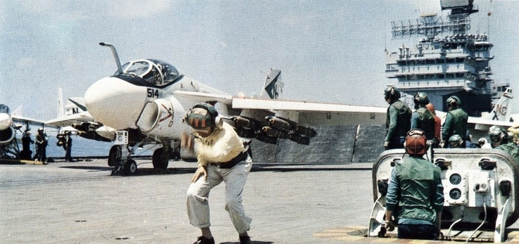 A-6C_VA-165_on_cat_of_USS_America_(CVA-66)_1970.jpg