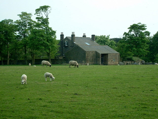 Across the fields to Rivington Lodge - geograph.org.uk - 168657