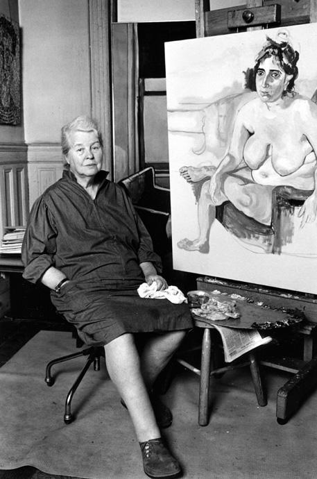 Alice Neel (Lynn Gilbert, 1976)