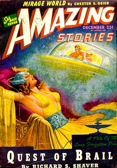 Amazing Stories Volume 21 Number 06: Spooky Paradigm: UFOs Are Dead, Flying Saucers Will Live Long