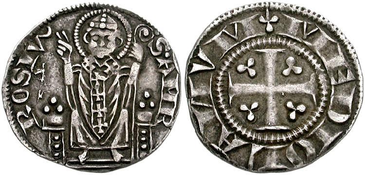 a1fa69d029 S.AMBROSIVS con figura di Sant'Ambrogio a tutto campo ...