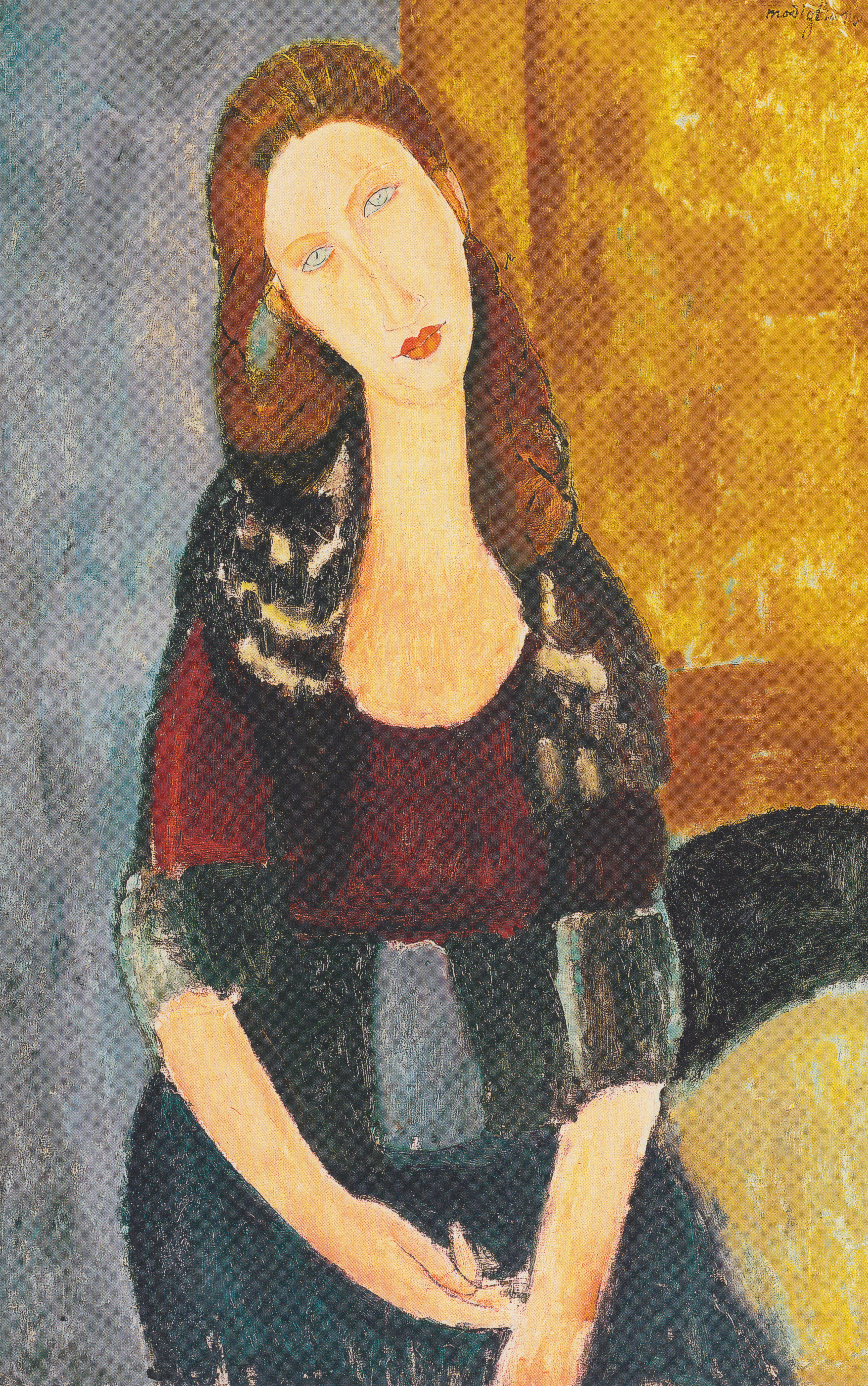 fileamedeo modigliani jeanne hebuterne sitzendjpeg