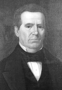 Anson Jones, last president of the Lone Star Republic prior to Texas statehood