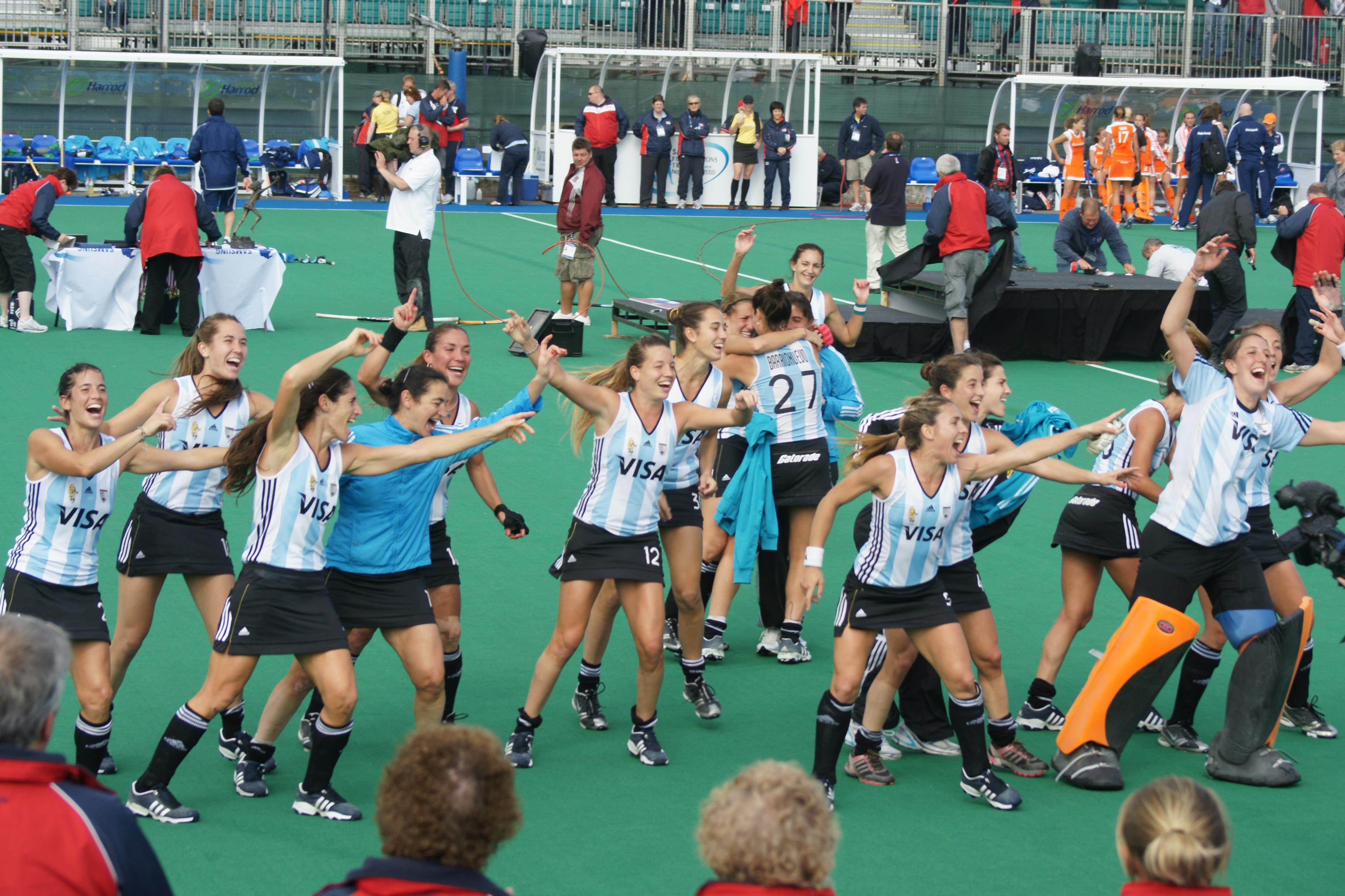 Image result for Argentina Women vs Netherlands Women hockey