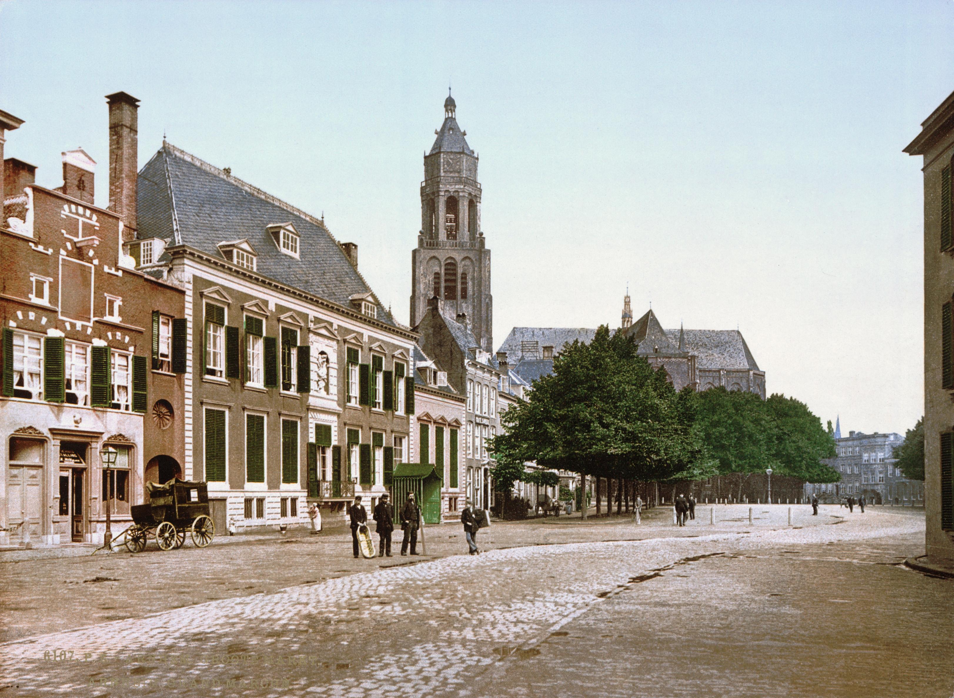 Markt Arnhem rond 1900