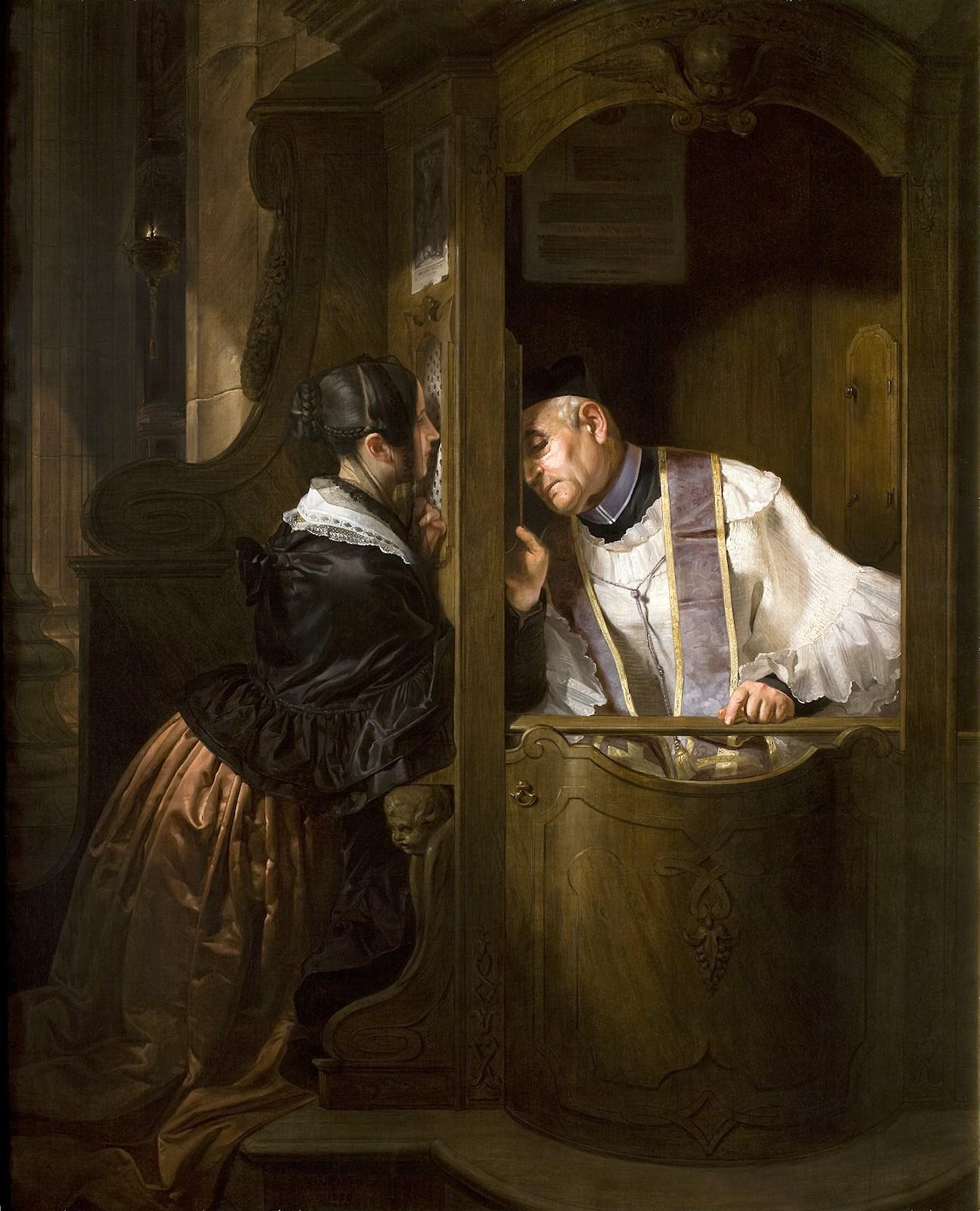 Image result for Catholic sacrament confession