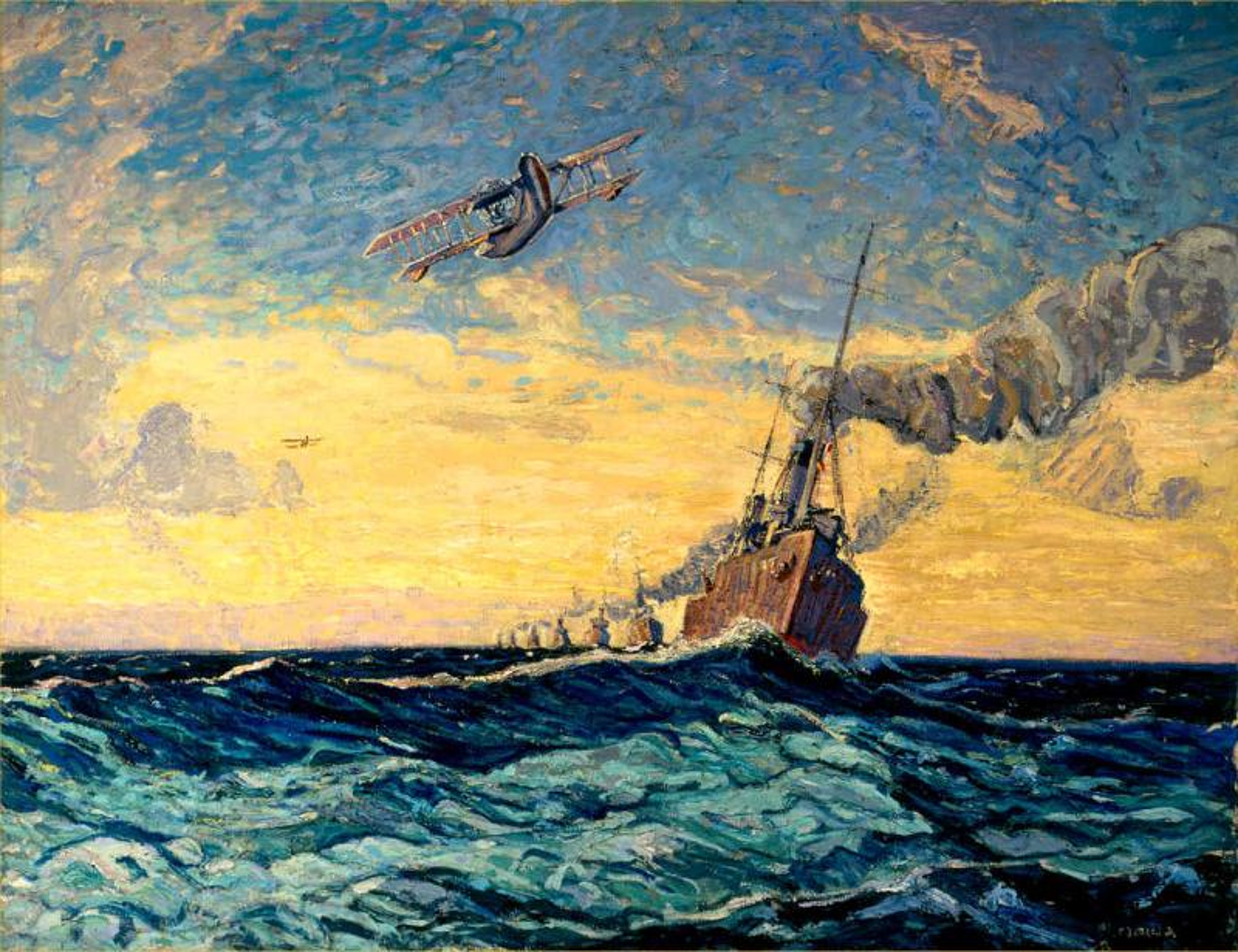 File Arthur Lismer Minesweepers Halifax Cwm 19710261 0342 Jpg Wikimedia Commons