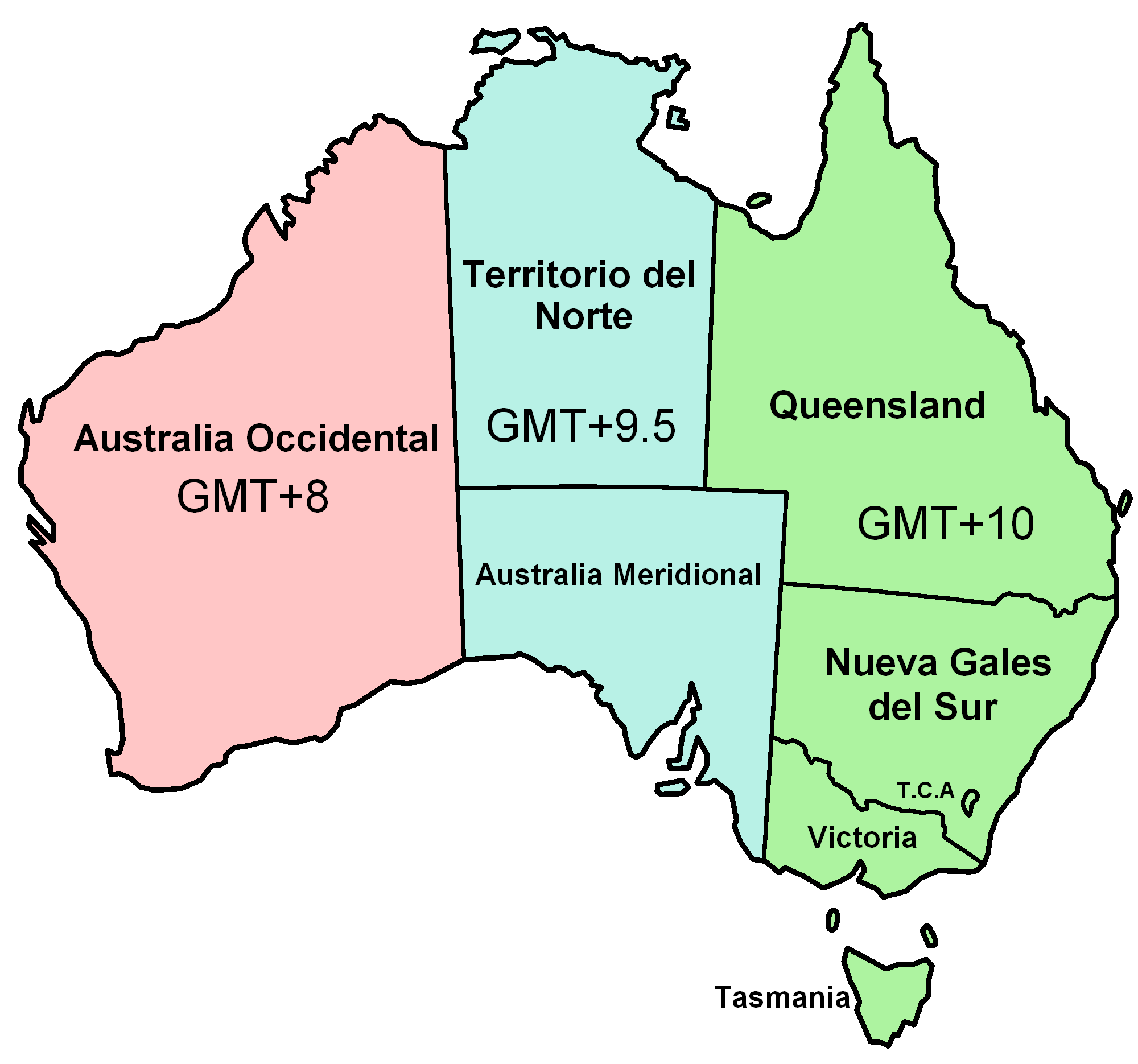 What was the date in Australia