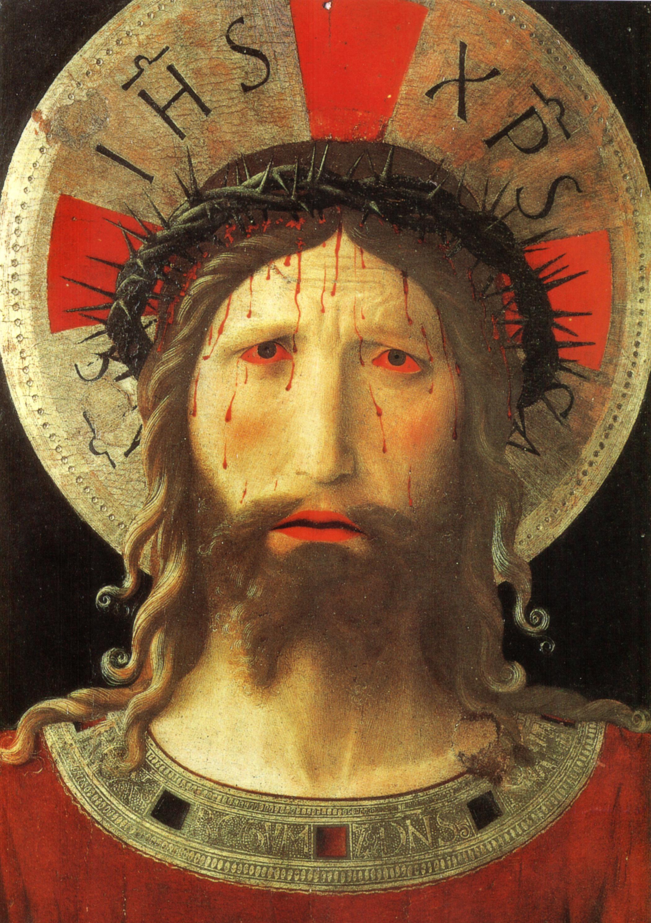 File:Beato angelico, Cristo coronato di spine, livorno ... | 2099 x 2975 jpeg 5927kB