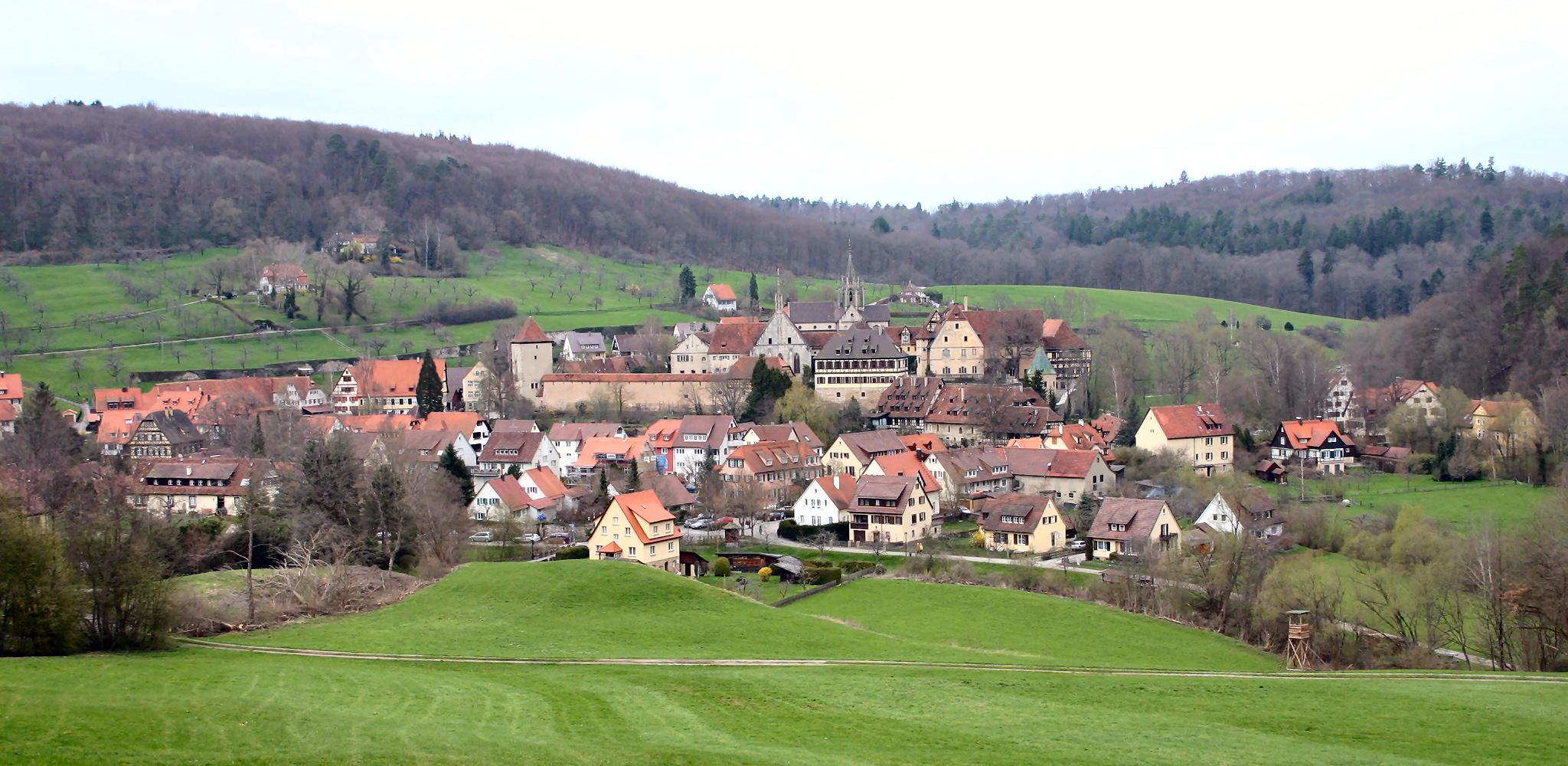 Depiction of Bebenhausen