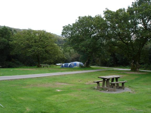 Beddgelert caravan and camp site - geograph.org.uk - 245015