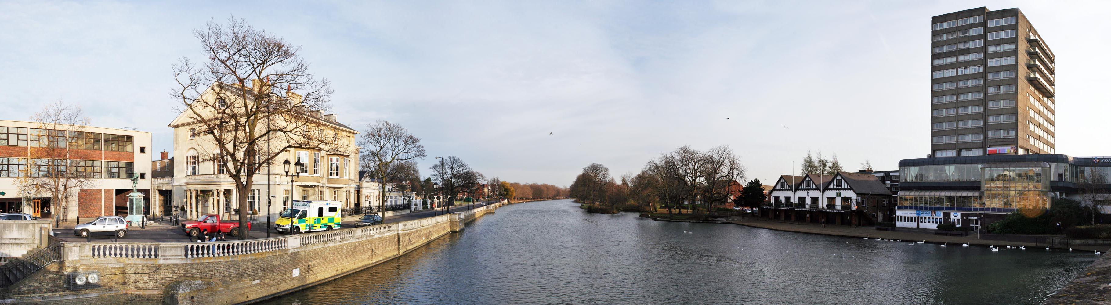 Bideford United Kingdom  City new picture : River Great Ouse in Bedford Colmworth, United Kingdom