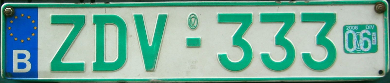 Registration plate maker uk