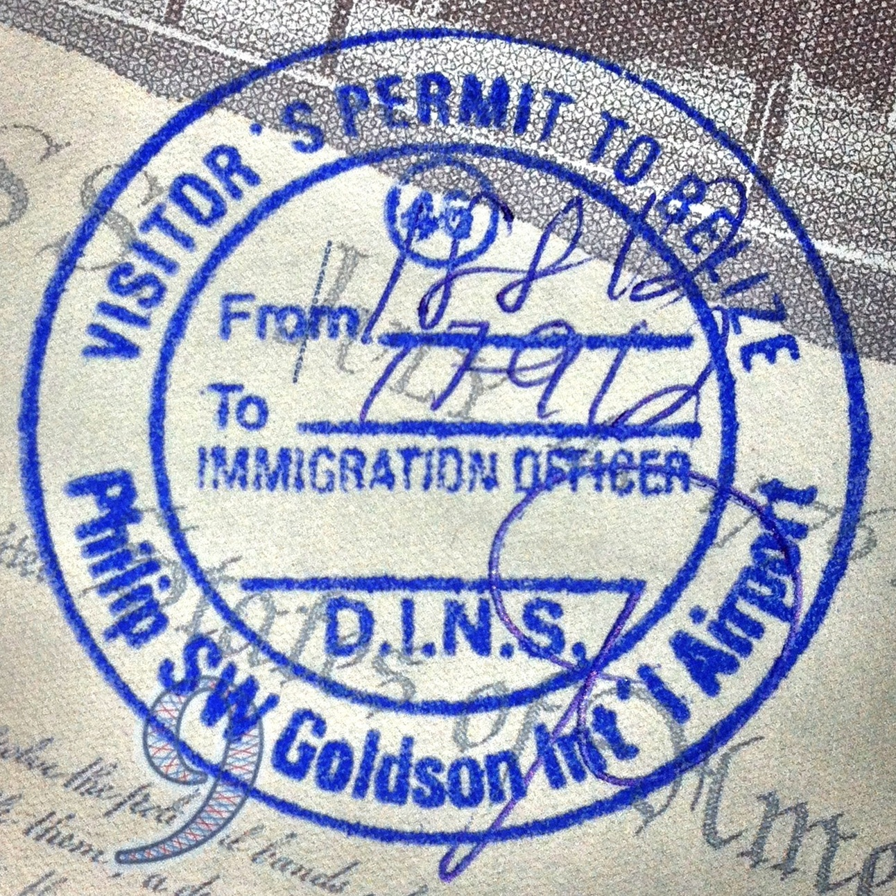 File Belize Passport Stamp Jpg Wikimedia Commons