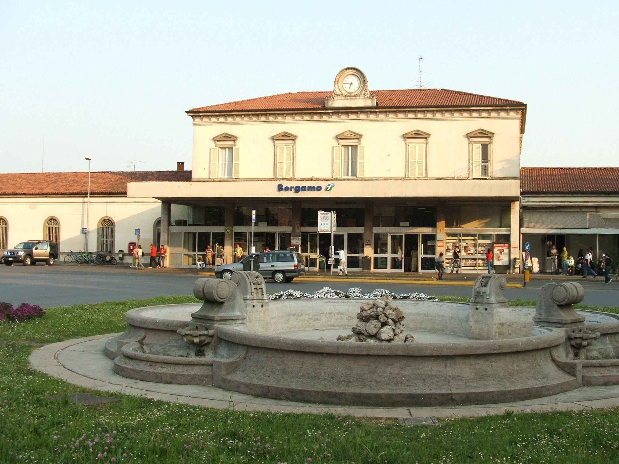 Stazione di bergamo - Treno milano porta garibaldi bergamo ...