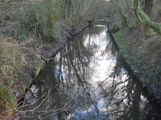 Beverley Brook on Wimbledon Common - geograph.org.uk - 675709