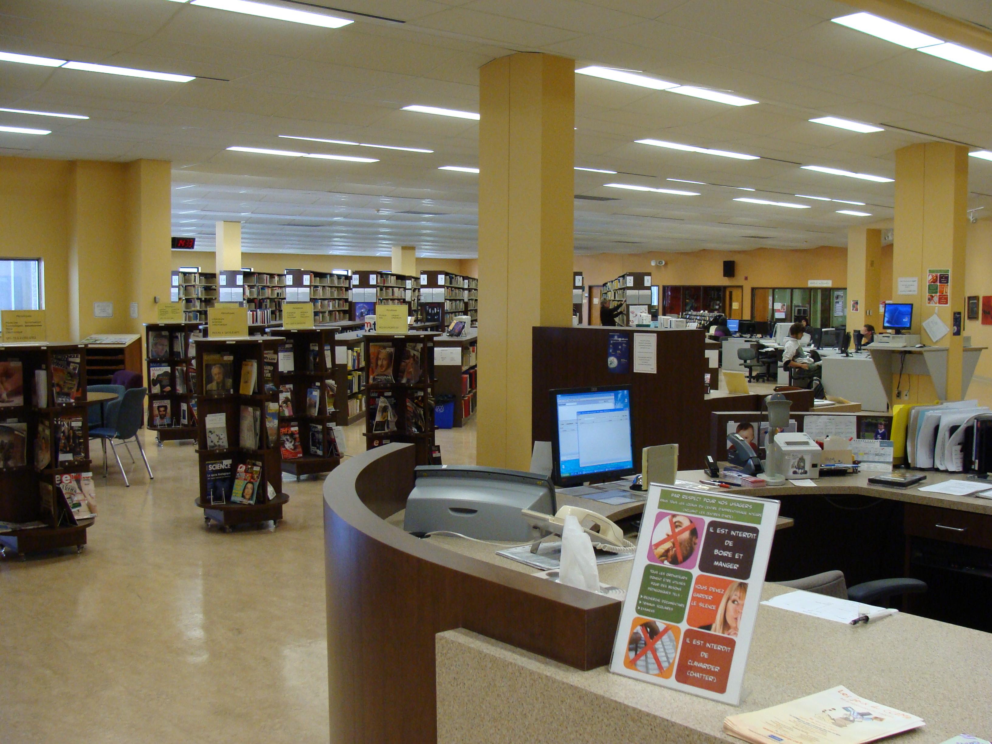 File biblioth que c gep de drummondville jpg wikimedia for Cegep vieux montreal piscine