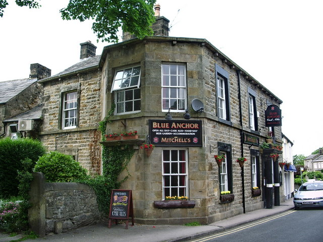 Blue Anchor, Main Road, Bolton-le-Sands - geograph.org.uk - 835555