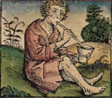 Homo brachystomus - Particolare di un'illustrazione per le Cronache di Norimberga