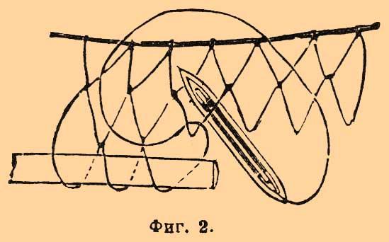 способы плетения сети рыбалка